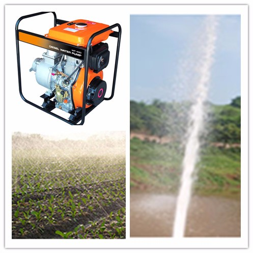 4inch/6 Inch electric start Agricultural Irrigation Diesel Water Pump For Farm