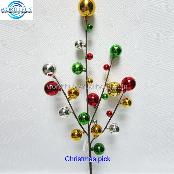 decorative beads spray decorative beads spray suppliers and manufacturers at alibabacom - Decorative Picks For Christmas Trees