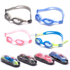 One piece silicone frame PC lens children Swimming Goggles