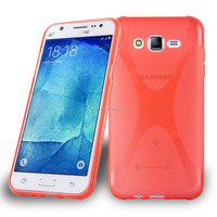 Hot Sale High Quality Soft TPU X Line Phone Case Cover For Samsung Galaxy J7