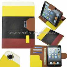 Belt clip case for ipad mini,Leather compendium for ipad case