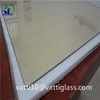 Clear ceramic heat proof glass for fireplace doors