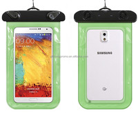 wholesale promotional floating pvc waterproof siwm bag case for cell phone