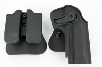 Police Tactical Plastic IMI Fast Draw m92 Belt Holster