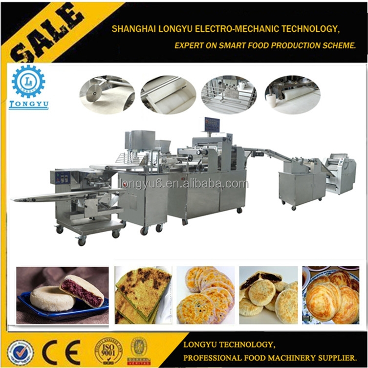ISO9001 CE Paratha Chapati Flat Bread Making Machine For Sale