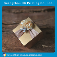 Luxury superior quality jewelry gift paper box packaging box