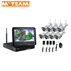 Cctv complete systems HD 720P wifi camera Wireless nvr 8ch kit