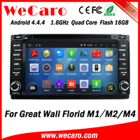 Wecaro WC-GW7233 Android 4.4.4 car gps navigation touch screen for Great wall Florid M1 M2 M4 dvd 3g mirror link