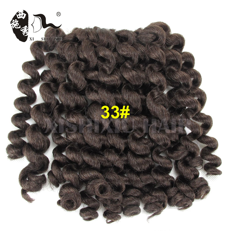 2016 Hot Sale 2X Value Jumpy Wand Curl Janet Crochet Marley Afro Twist Bounce Braid Hair Extension