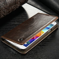 Wholesale Case For Samsung S5/S5mini High Quality Leather Wallet Cover For Samsung Galaxy S5 Flip Cases