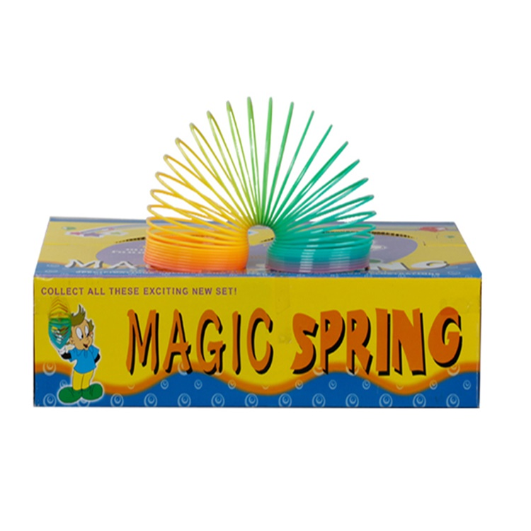 Promotional classic magic coil spring slinky Wholesale toys China