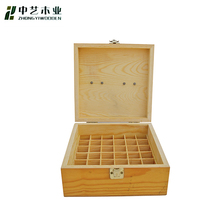 Trade assurance small mini custom solid high end wooden essential oil storage box