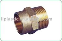 brass socket welding with copper pipe BRASS coupling for copper pipe