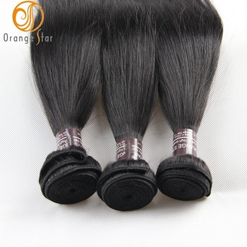Wholesale Brazilian Hair 100 Remy Virgin Human Hair Extension Silky Straight