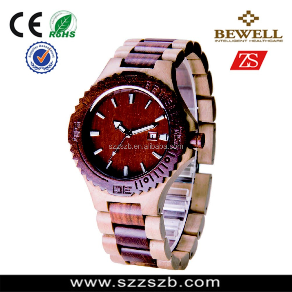 alibaba china TOP ten gold jewelry new product and wholesale wood watch for men and woman
