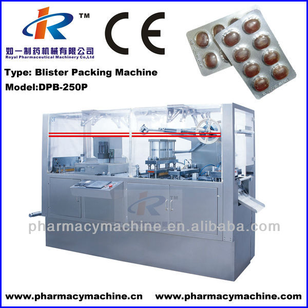 DPB-250P Pill Blister Packaging Machine
