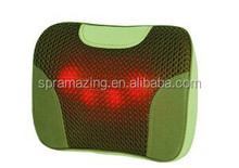Portable Waist Back massage pillow with infrared heat for home and car use AMA-6007