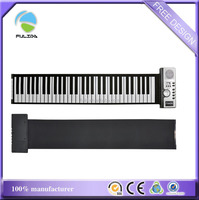 piano keys shaped rubber souvenir fridge refrigerator magnet