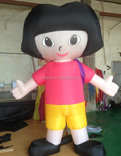 inflatable Dora cartoon for Advertising