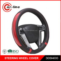 2016 POPULAR NEW DESIGN CUSTOMIZED PVC PU CAR STEERING WHEEL COVER