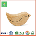 Wooden Baby Rattle Shaker Musical Toy Animal Shape, 100% Food Grade & Non-toxic