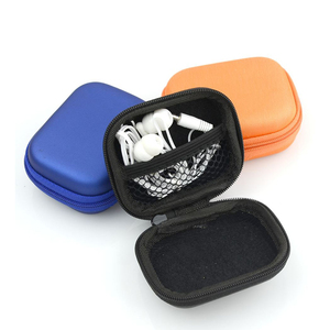 Professional earphone earbud carrying case / bags customize