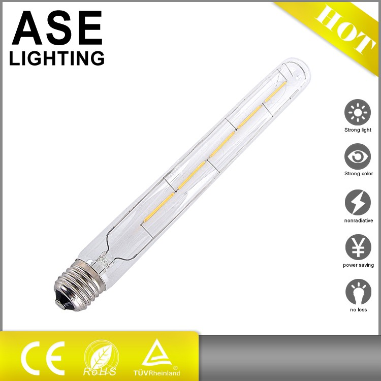 2016 hot sale 300mm E27 E26 LED filament bulb t30