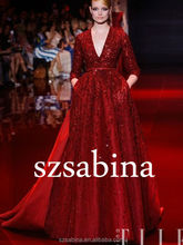 TED0039 Fancy elie saab red evening dress FOB Reference Price:Get Latest Price