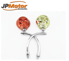JPMotor Skeleton Rearview Mirror Modified Motorcycle Side View Mirror