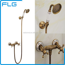 New Style Popular Multi-Function Antique Tap Shower Set
