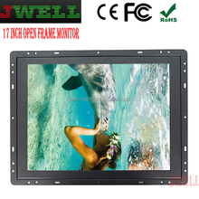17 inch 4:3 Ratio hd slim 17 inch hdmi input lcd monitor open frame
