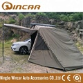 New Black Hard shell Roof Tent with Annex Awning Room, Hard shell Roof Tent