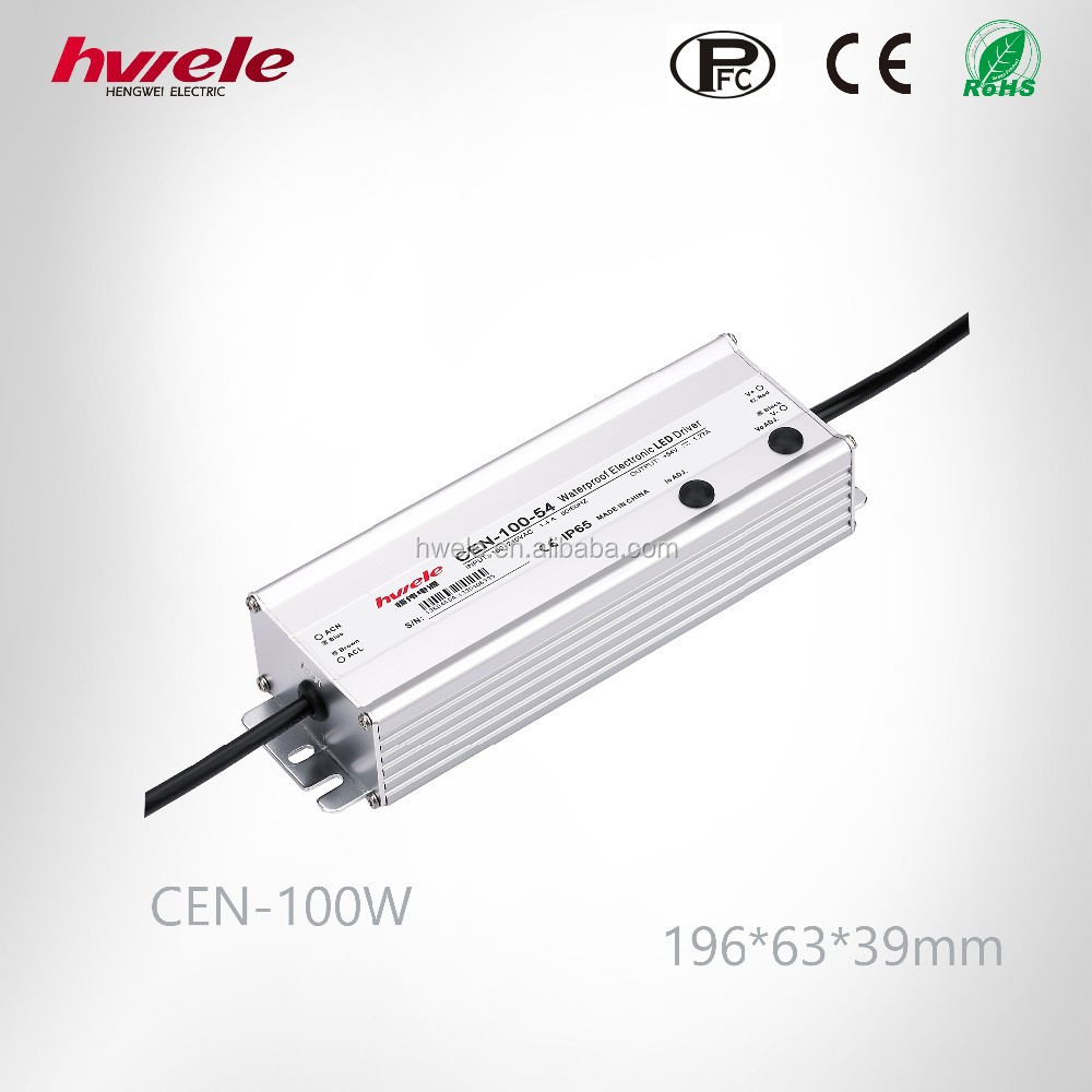 CEN-100W dimmable waterproof LED driver