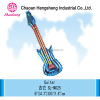 Birthday party supplies inflatable guitar