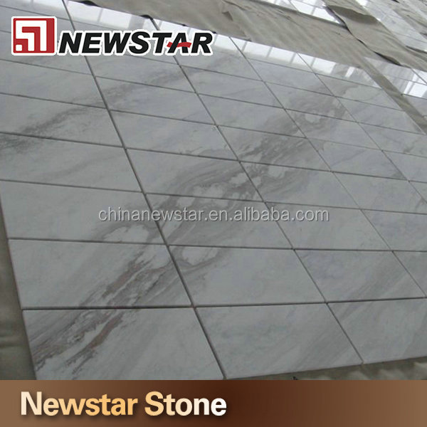 2014 new volakas white marble pattern paving stone