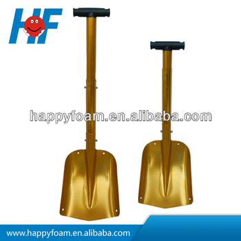 colorful aluminum snow foldable shovel