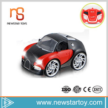 Special Design wholesale fashion four channel and RC metal car model with light