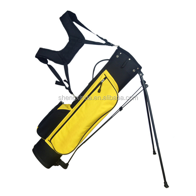Wholesale 2016 Factory Design Nylon Golf Stand Up Bags