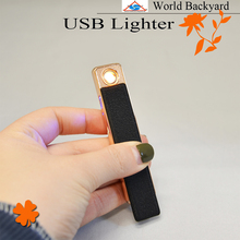WB-124 windproof electronic coil USB charging lighter