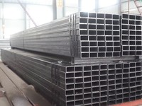 wholesale Ms Erw Black square rectangular iron Hollow Section Steel Pipe from manufacturing company