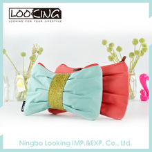 LOOKING Lovely Bowknot Teenage Girls Pencil Case