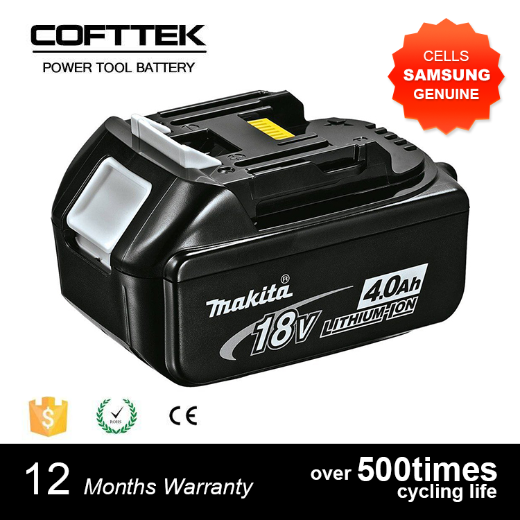 Cordless drill replacement makitas 18v 4ah power tool battery