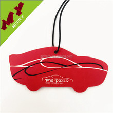 Promotional gifts custom paper car air freshener