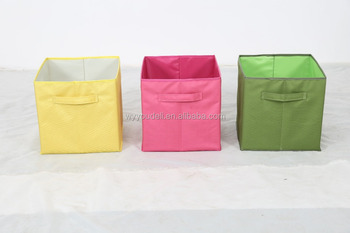 2015 Fashion Colorful 600D Oxford Storage Box