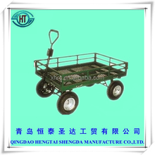 north america steel mesh wagon garden cart TC1840