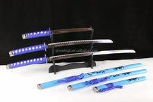 japanese samurai swords for decoration samurai on scabbard WSD089