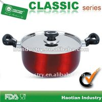 Aluminum Healthy Non-stick Coating Dutch Oven For Campimg