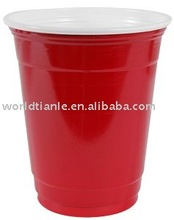 Disposable Drinking party <strong>Cup</strong> with double colors