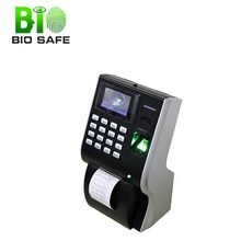 Biometric Attendance System Real Time Fingerprint Access Time Clock With Printer(HF-P10)