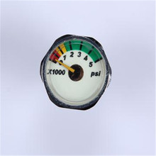 Good Quality Products China Easy To Read 0-600bar Air Gauge